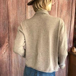 Converse Sweaters - Converse Open Waterfall Cardigan Medium